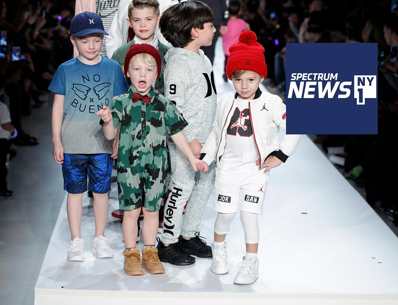 Rookie USA Fashion Show Puts Celebrity's Kids on the Runway